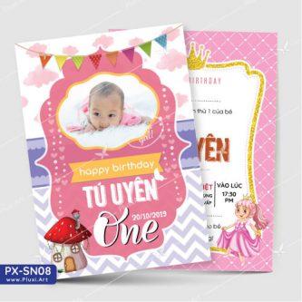 Thiệp sinh nhật bé gái