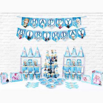 Bộ phụ kiện trang trí sinh nhật công chúa